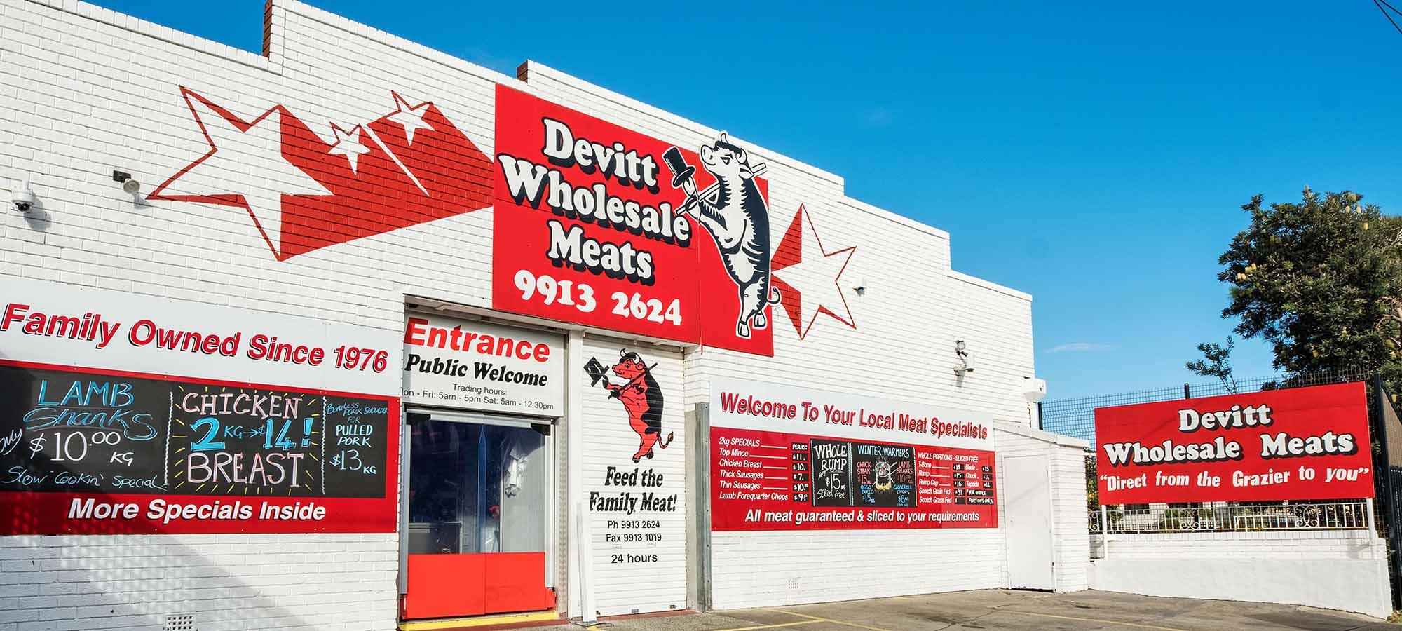 PRODUCTS - Devitt Wholesale Meats